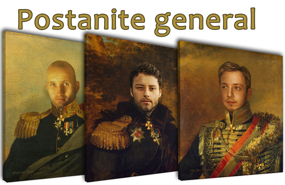 Postanite GENERAL - slika za muškarce