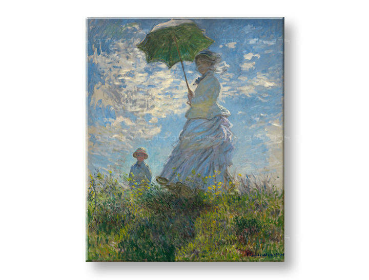 Reprodukcije LADY WITH UNMBRELLA - Claude Monet