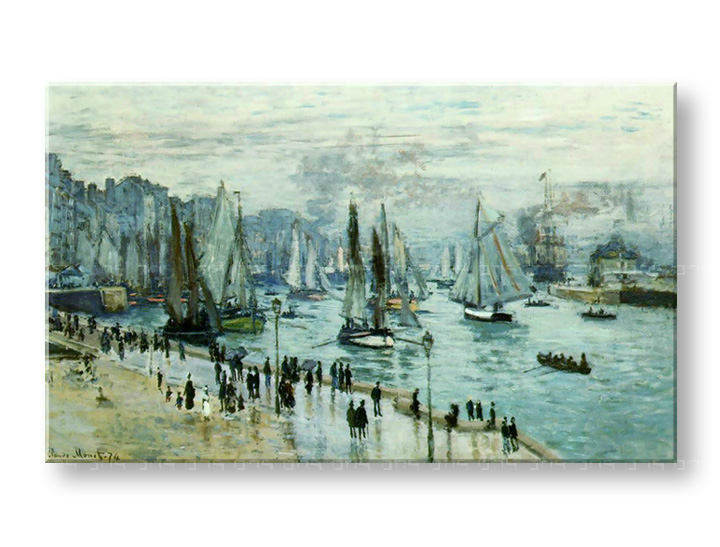 Reprodukcije FISHING BOATS LEAVIN THE HARBOR - Claude Monet