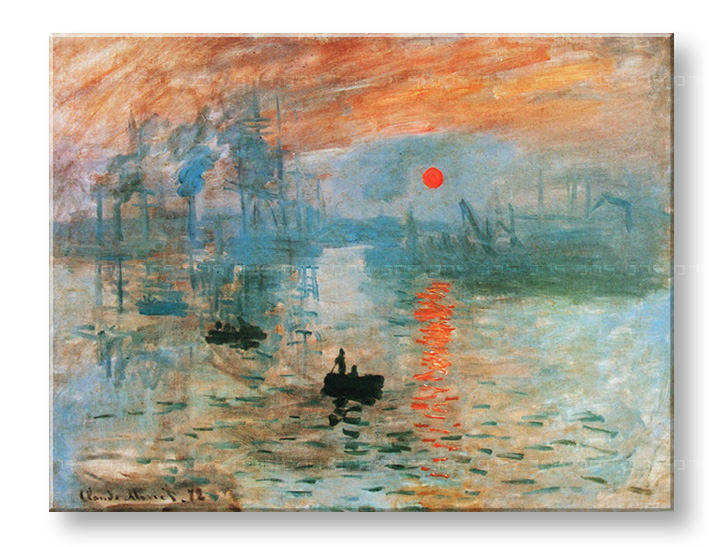 Reprodukcije IMPRESSION, SUNRISE - Claude Monet