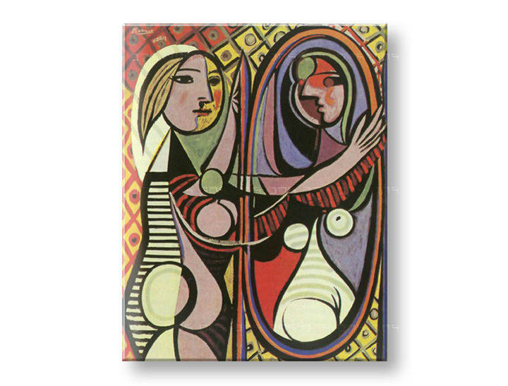Reprodukcije GIRL IN FRONT OF MIRROR - Pablo Picasso