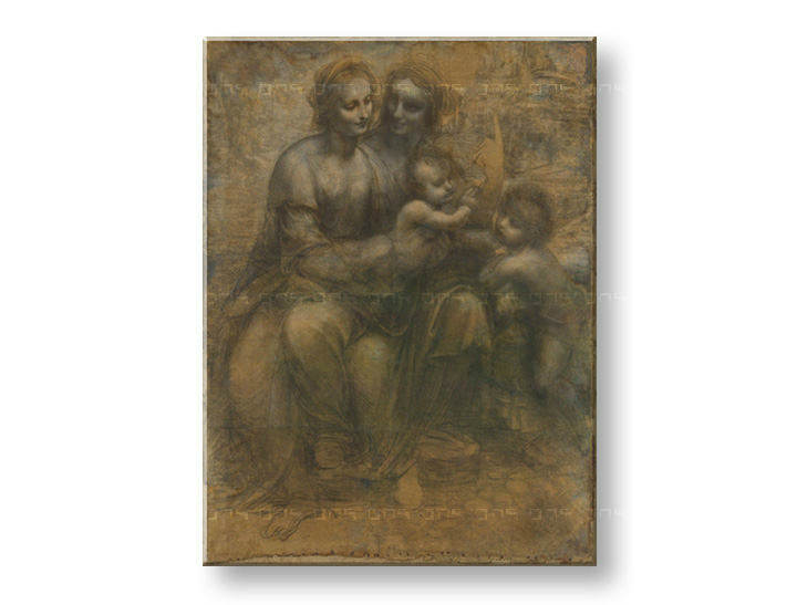 Reprodukcije VIRGIN AND CHILD WITH SAINT ANNE- Leonardo da Vinci